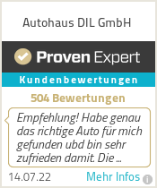 Erfahrungen & Bewertungen zu Autohaus DIL GmbH