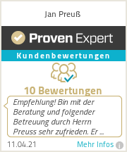 Erfahrungen & Bewertungen zu Jan Preuß