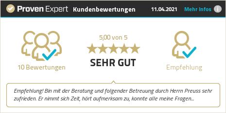 Kundenbewertungen & Erfahrungen zu Jan Preuß. Mehr Infos anzeigen.