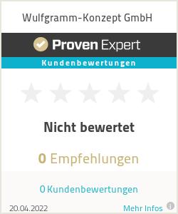 Erfahrungen & Bewertungen zu Wulfgramm-Konzept GmbH