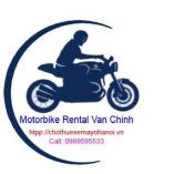 Cho thuê xe máy Văn Chính