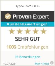 Erfahrungen & Bewertungen zu HypoFin24 OHG