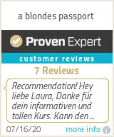 Ratings & reviews for a blondes passport