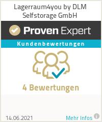 Erfahrungen & Bewertungen zu DLM Selfstorage GmbH