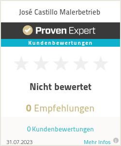 Erfahrungen & Bewertungen zu José Castillo Malerbetrieb