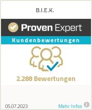 Erfahrungen & Bewertungen zu B.I.E.K.