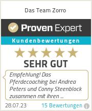 Erfahrungen & Bewertungen zu Das Team Zorro