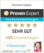 Erfahrungen & Bewertungen zu Snezana Galijas
