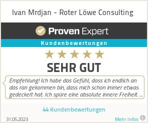 Erfahrungen & Bewertungen zu Ivan Mrdjan - Roter Löwe Consulting