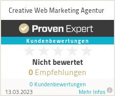 erfahrungen bewertungen zu creative web marketing agentur