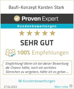 Erfahrungen & Bewertungen zu Baufi-Konzept Karsten Stark