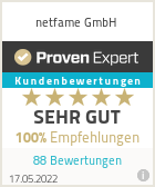 Erfahrungen & Bewertungen zu netfame GmbH
