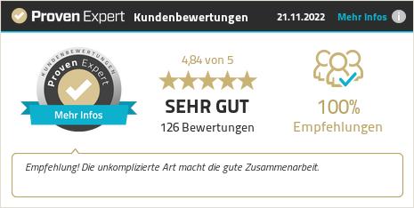 Kundenbewertungen & Erfahrungen zu WEITSICHT Designagentur GmbH. Mehr Infos anzeigen.