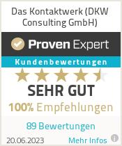 Erfahrungen & Bewertungen zu Das Kontaktwerk e.K.