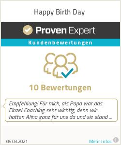 Erfahrungen & Bewertungen zu Happy Birth Day