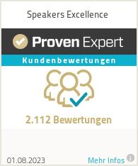 Erfahrungen & Bewertungen zu Speakers Excellence
