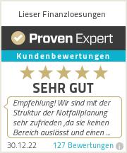Erfahrungen & Bewertungen zu Lieser Finanzloesungen