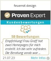 Erfahrungen & Bewertungen zu feuerrot design