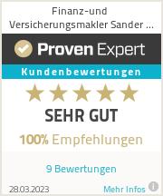 Erfahrungen & Bewertungen zu Versicherungsmaklerin Ingrida Sander