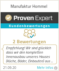 Erfahrungen & Bewertungen zu Manufaktur Hommel