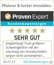 Erfahrungen & Bewertungen zu Pfisterer & Gerber Immobilien