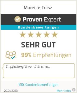 Erfahrungen & Bewertungen zu Mareike Fuisz