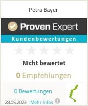 Erfahrungen & Bewertungen zu Petra Bayer