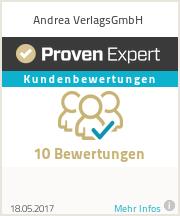 Erfahrungen & Bewertungen zu Andrea VerlagsGmbH
