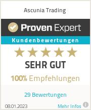 Erfahrungen & Bewertungen zu Ascunia Trading