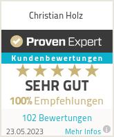 Erfahrungen & Bewertungen zu Christian Holz