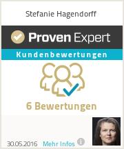 Erfahrungen & Bewertungen zu Stefanie Hagendorff