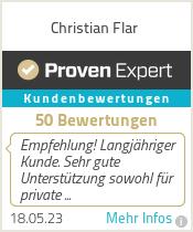 Erfahrungen & Bewertungen zu Christian Flar