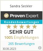 Erfahrungen & Bewertungen zu Sandra Seckler