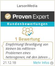 Erfahrungen & Bewertungen zu LarsonMedia