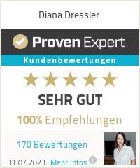 Erfahrungen & Bewertungen zu Diana Dressler