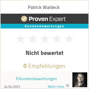Erfahrungen & Bewertungen zu Patrick Waldeck