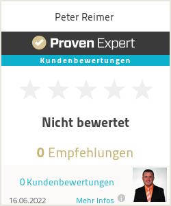 Erfahrungen & Bewertungen zu Peter Reimer