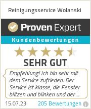 Erfahrungen & Bewertungen zu Reinigungsservice Wolanski
