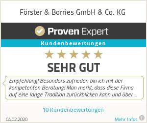 Erfahrungen & Bewertungen zu Förster & Borries GmbH & Co. KG