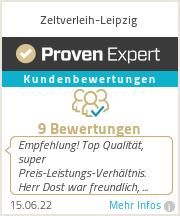 Erfahrungen & Bewertungen zu Zeltverleih-Leipzig