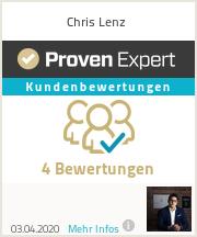 Erfahrungen & Bewertungen zu Chris Lenz