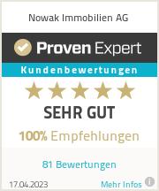 Erfahrungen & Bewertungen zu Nowak Immobilien AG