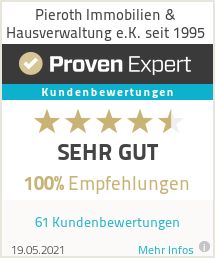 Erfahrungen & Bewertungen zu Pieroth Immobilien & Hausverwaltung e.K. seit 1995