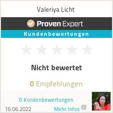 Erfahrungen & Bewertungen zu Valeriya Licht