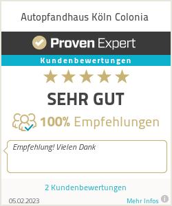 Erfahrungen & Bewertungen zu Autopfandhaus Köln Colonia