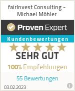 Erfahrungen & Bewertungen zu fairInvest Consulting - Michael Möhler