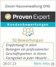 Erfahrungen & Bewertungen zu Ziesel Hausverwaltung OHG