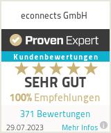 Erfahrungen & Bewertungen zu econnects GmbH