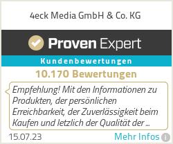 Erfahrungen & Bewertungen zu 4eck Media GmbH & Co. KG