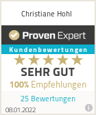 Erfahrungen & Bewertungen zu Christiane Hohl